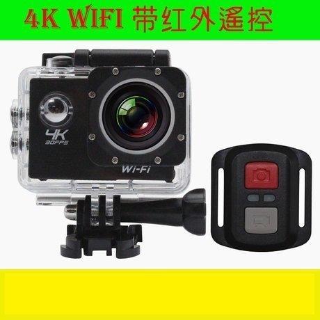 【品質最佳再送遙控器】全志4K F65B 夜視 廣角 運動 DV 2寸 行車 紀錄器 防水防震 HDMI 攝影機 紅外線