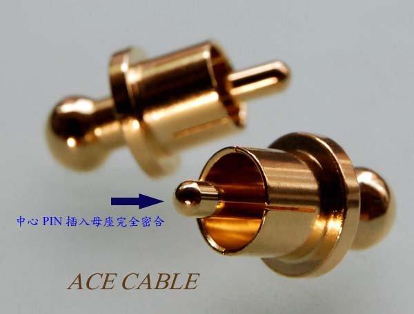 《線王》音響配件 ~ 純銅合金精密CNC車床加工Gold RCA Caps 端子保護蓋