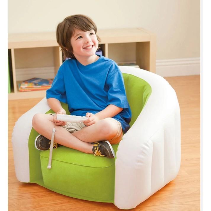 原裝正品植毛U型兒童充氣沙發 懶人沙發 充氣椅(先宅配
