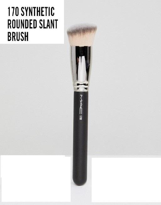 MAC Cosmetics 170 Synthetic Rounded Slant Brush 圓頭斜角粉底刷 愛來客