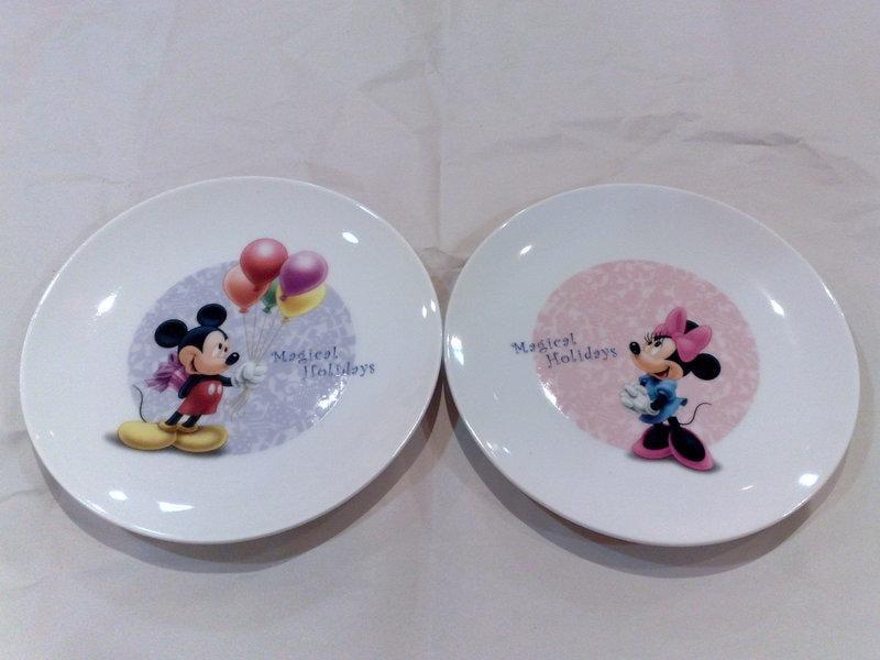 日本迪士尼disney限定米老鼠/米奇米妮聖誕節紀念餐盤