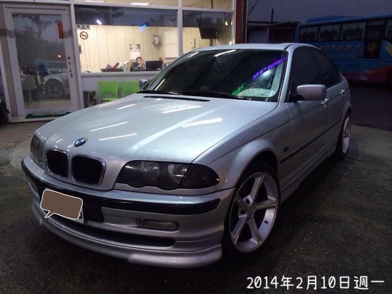 BMW E46 318I 空力套件 AC鋁圈 精品改裝 1999年 銀色 峰崋