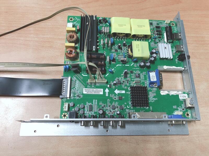 SANYO 三洋 SMT-55MU1 多媒體液晶顯示器 主機板 569MW0203 C 拆機良品 /
