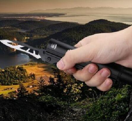 強光手電筒超亮手電刀可充電防水
