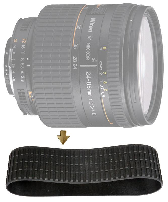 【NRC】Zoom Rubber Ring for Nikon 24-85mm F2.8-4.0D 變焦環