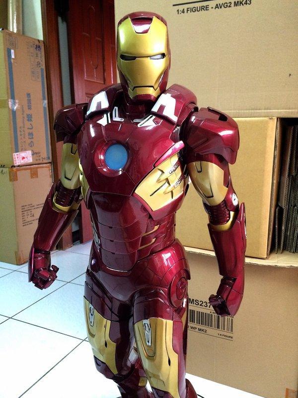 ★夏斯汀★ (代購) GK 1:2雕像 IRON MAN 鋼鐵人MK7 馬克7 (非SIDESHOW)