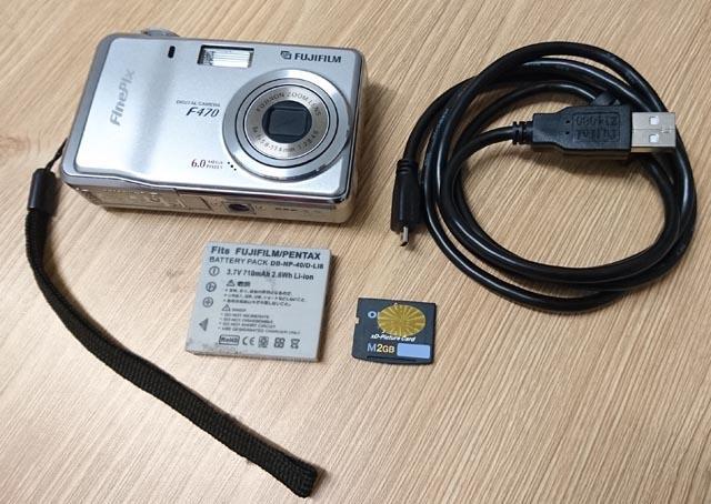 [中古極新] Fujifilm 富士 F470 照相機 數位相機 伸縮鏡頭 600萬畫素