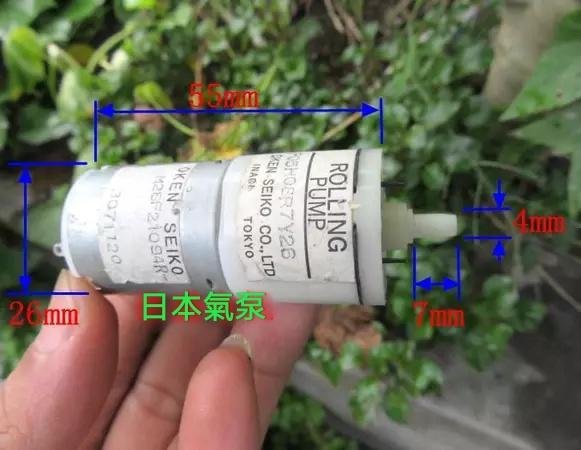 日本 精工 OKEN SEIKO微型氣泵 增氧泵 微型 空氣幫浦 馬達 6V usb 氣泵 停電打氣 釣養魚 氣球