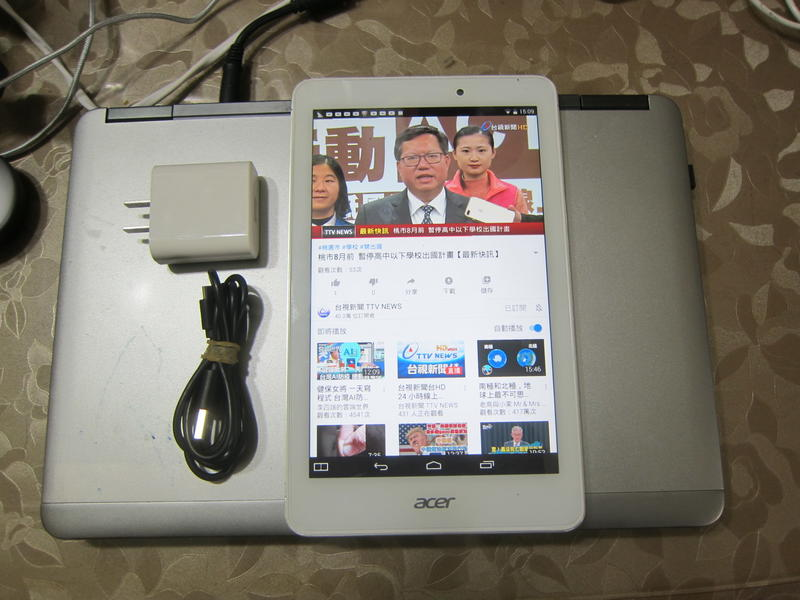 acer iconia TAB8 A1-840FHD FullHD 平板