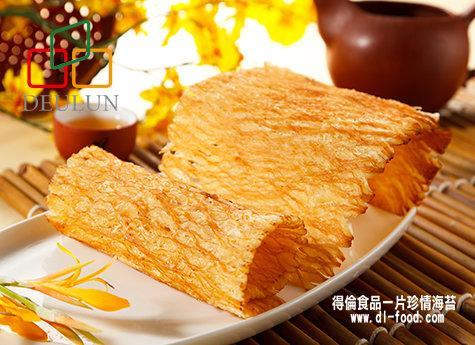 【得倫食品】一片珍情 碳烤魷魚片 年節必買