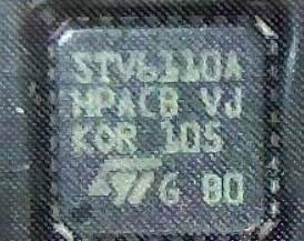 [二手拆機][含稅]直拍 拆機二手原裝STV6110A QFN封裝