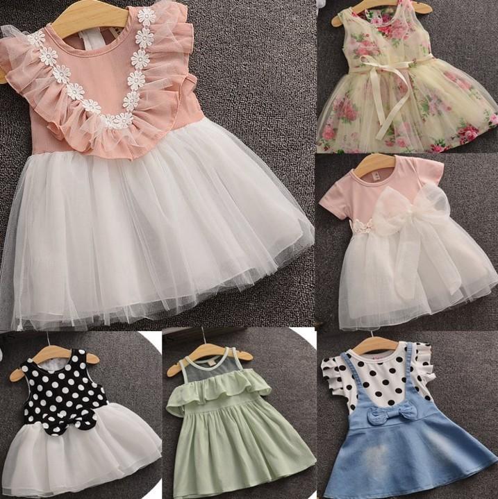 寶寶連衣裙純棉女童公主裙嬰兒夏季吊帶裙0-1-2-3歲小孩背心紗裙