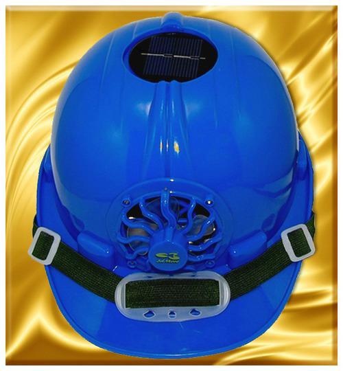 👍【3dMore®正品】最新款 太陽能風扇帽高敏感面板轉化太陽能工程帽扣安全帽帶
