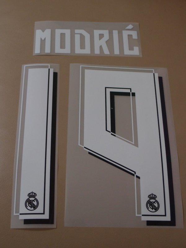 15-16 皇馬客場燙字 Real Madrid 19 Modric