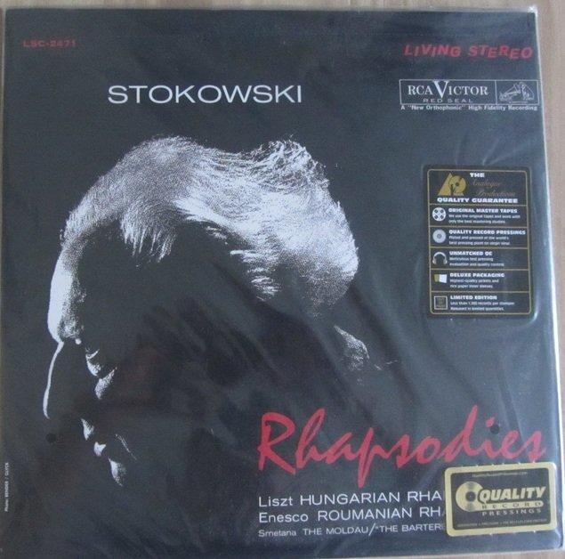 詩軒音像斯托科夫斯基-狂想曲 Stokowski Rhapsodies 200G LP黑膠唱片-dp070