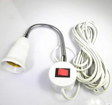 110V E27頭+磁鐵 有線燈座 磁鐵工作燈 車庫燈 磁鐵可吸附 工作燈 蛇燈 管燈 磁鐵燈