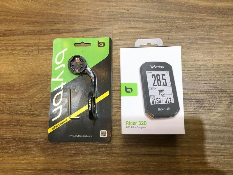 佶昇動輪車-Bryton Rider 320自行車馬錶 踏頻感測器 心率帶