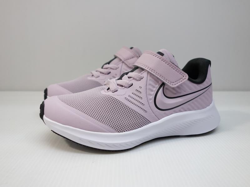 =小綿羊= NIKE STAR RUNNER 2 PSV 粉紫 AT1801 501 中童 運動鞋 慢跑 超輕量