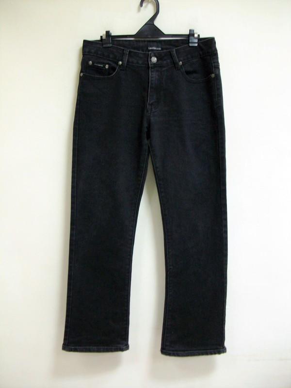 春夏合穿 Calvin Klein Jeans 30號 黑色 牛仔喇叭褲乙件   八成新