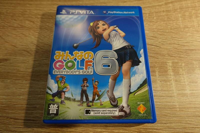 PS VITA 全民高爾夫6 Everybody's Golf 6 日文版