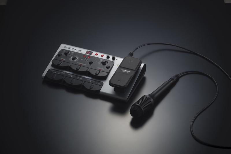 【搖滾玩家樂器】全新 免運公司貨 ZOOM V6 人聲效果器 和聲 附槍型麥克風 效果器