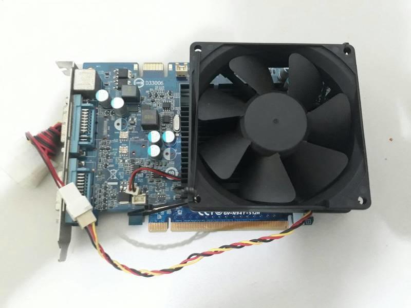 台中電腦維修 - 中古技嘉 GV-N94T-512H 顯示卡 (限自取/非人為因素保固三天)