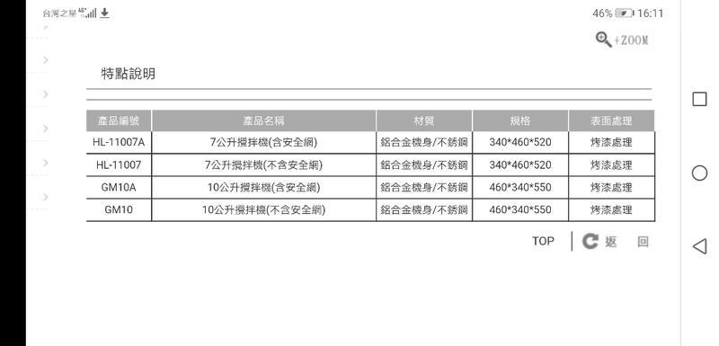 👉【Dynasty小林機械】7公升/10公升攪拌機-含/不含安全網