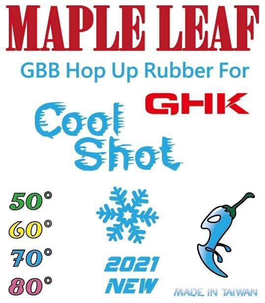 楓葉精密 2021 GHK規格 GBB HOP座 專用小辣椒HOP皮-矽膠版