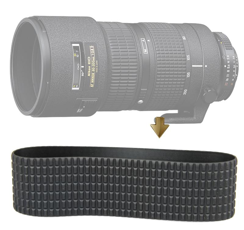 【NRC】Zoom Rubber Ring for Nikon AF 80-200mm F2.8D 小黑三 變焦皮