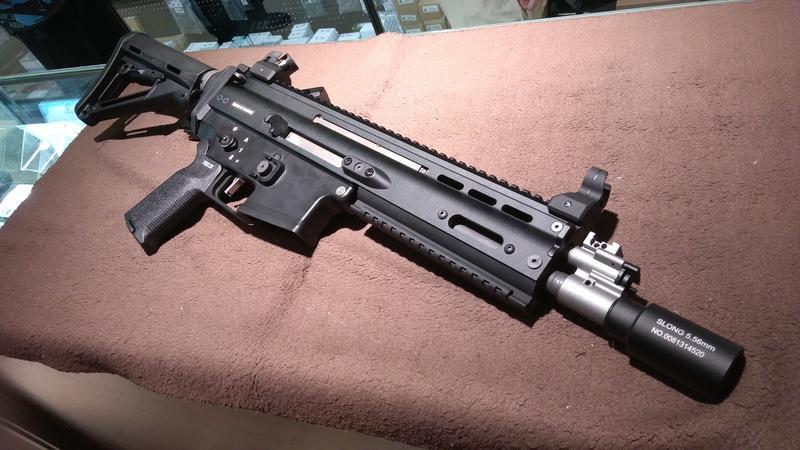 【AE】WE SCAR-L 特調黑咖啡 瓦斯步槍