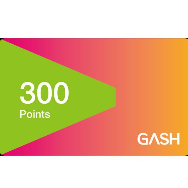 【現貨】GASH 300 點  / 數位序號 / 合作經銷商【電玩國度】