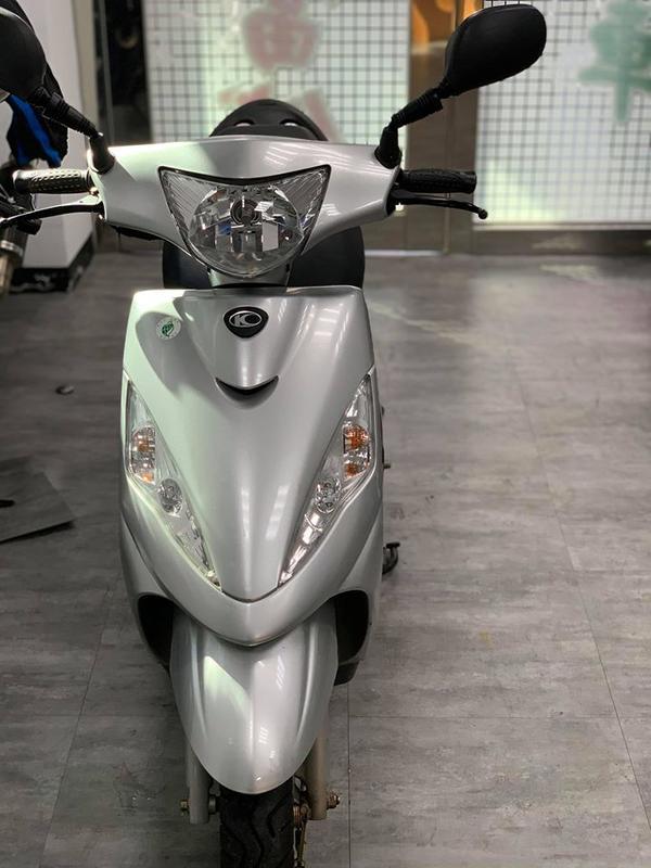 自售 光陽 CUE 100cc 2017年07月出廠 便宜出售只跑5000ㄛ非常新買到賺到