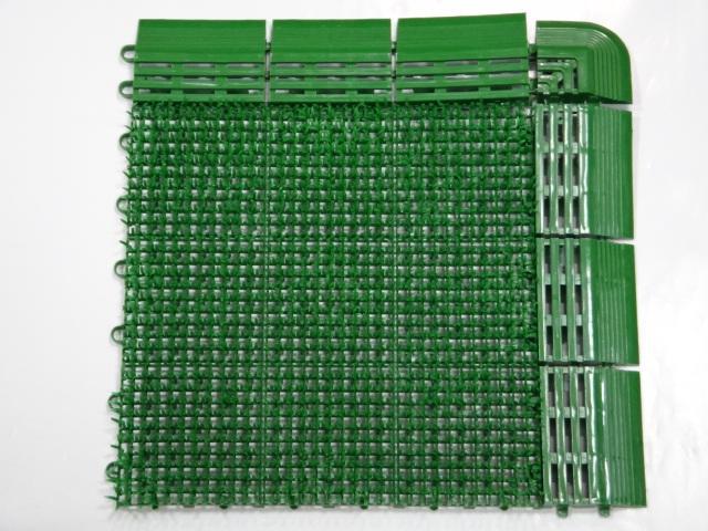 人造草皮地墊拼接人工短草排水板刮泥墊門墊組合草皮拼接草皮DIY人造草皮拼裝草人工草皮