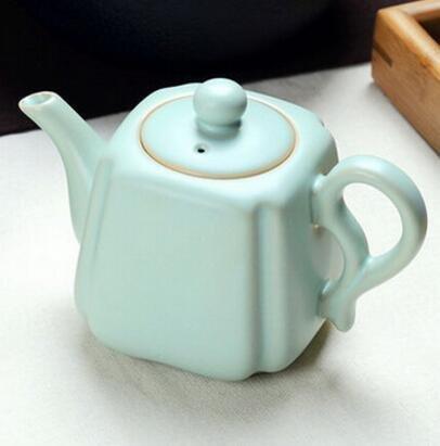 [便利小舖]* 龍泉青瓷茶具整套陶瓷紫砂汝窯茶壺 565b
