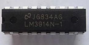 [二手拆機][含稅]LM3914N LM3914N-1 品質保證