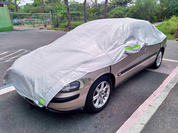 2,000c.c. 通用型 半身 半罩 車罩 VOLVO S60