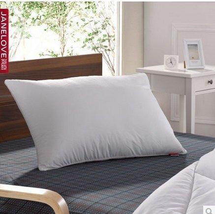 簡戀家紡 枕頭芯特價 纖維枕十孔枕磨絨無印花枕芯 特價