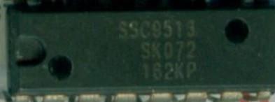 [二手拆機][含稅]SSC9513直插 音樂音響集成IC 直接拍