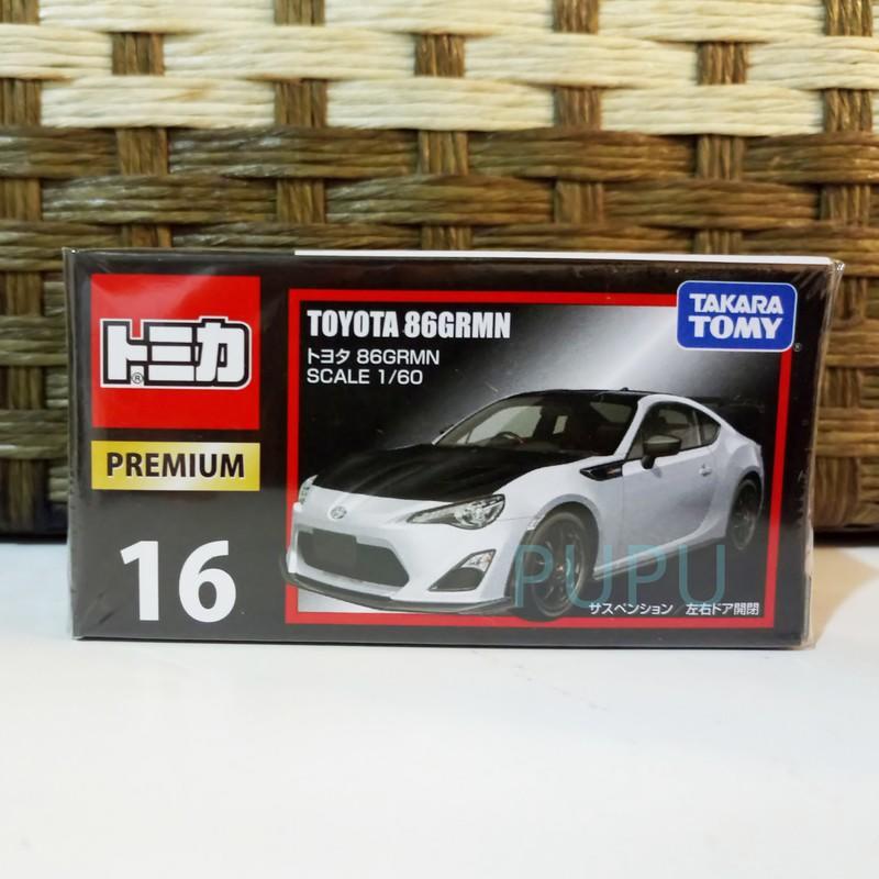 TOMICA PREMIUM 16 黑盒 Toyota 86grmn 全新 現貨