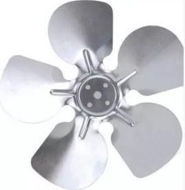 [二手拆機][含稅]鋁風葉葉片冰箱冰櫃冷櫃展示櫃冷凝器散熱電機馬達風葉直徑20釐米