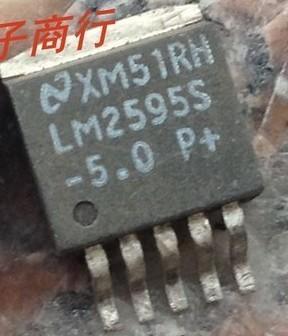 [二手拆機][含稅]LM2595SX-5.0 LM2595S-5 LM2595S NS穩壓器TO263