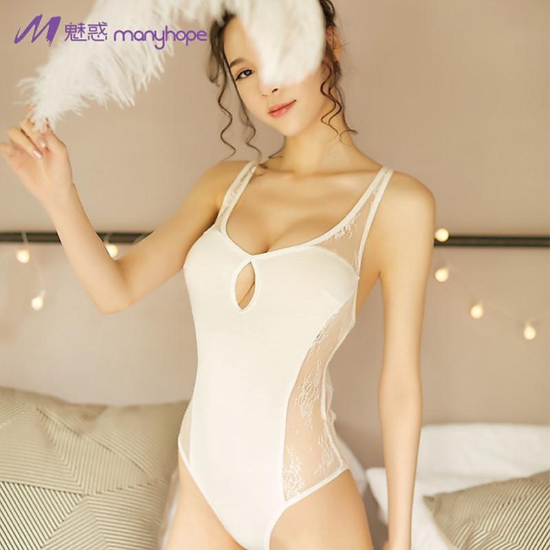 318百貨-新款性感蕾絲情趣內衣連體衣誘惑套裝露背女士連體套
