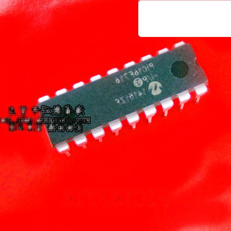 PIC16F716-I/P DIP18 PIC16F716 8位微控制器芯片 221-00858
