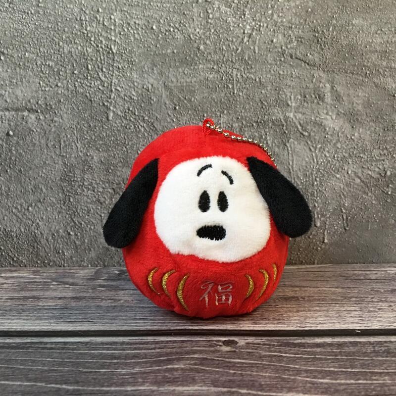 日本 史努比 米菲兔 達摩 刺繡 吊飾 掛飾 Snoopy 不倒翁 填充玩具絨毛娃娃毛絨玩偶收藏生日禮物miffy米飛兔