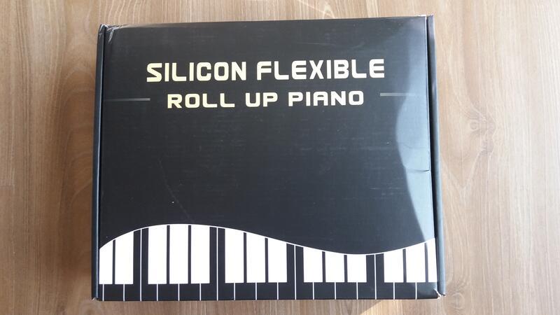 手捲鋼琴88鍵  含延音踏板  充電式手捲琴 電子琴 琴鍵加厚 PA88(二手)
