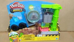 培樂多車輪系列 起重機遊戲組 培樂多Play-Doh 孩之寶 Hasbro 培樂多黏土 創意DIY E5400
