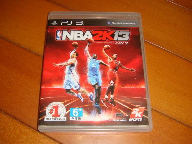 PS3 NBA 2K13 英文版 二手商品