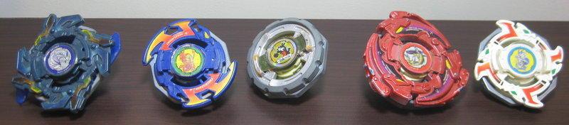 TAKARATOMY 絕版 5款改造 限定 戰鬥陀螺 全國大賽得獎款 (非 鋼鐵奇兵)