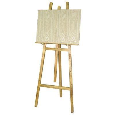 【文具通】5尺 約150cm 原木 木質 畫架 告示/公告/黑板/白板/佈告欄 不含畫板需另購 L3010088