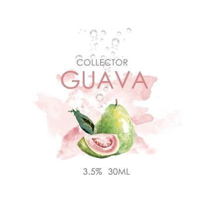 VAPE『 中藥行 』MIT Collector 收藏家 Guava 紅心芭樂 鹽 30ML